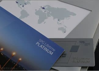 SPG Lifetime Platinum Card - Starwood