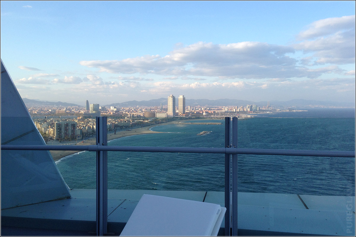 W Hotel Barcelona - a Starwood Luxury Hotel - Review of my stay