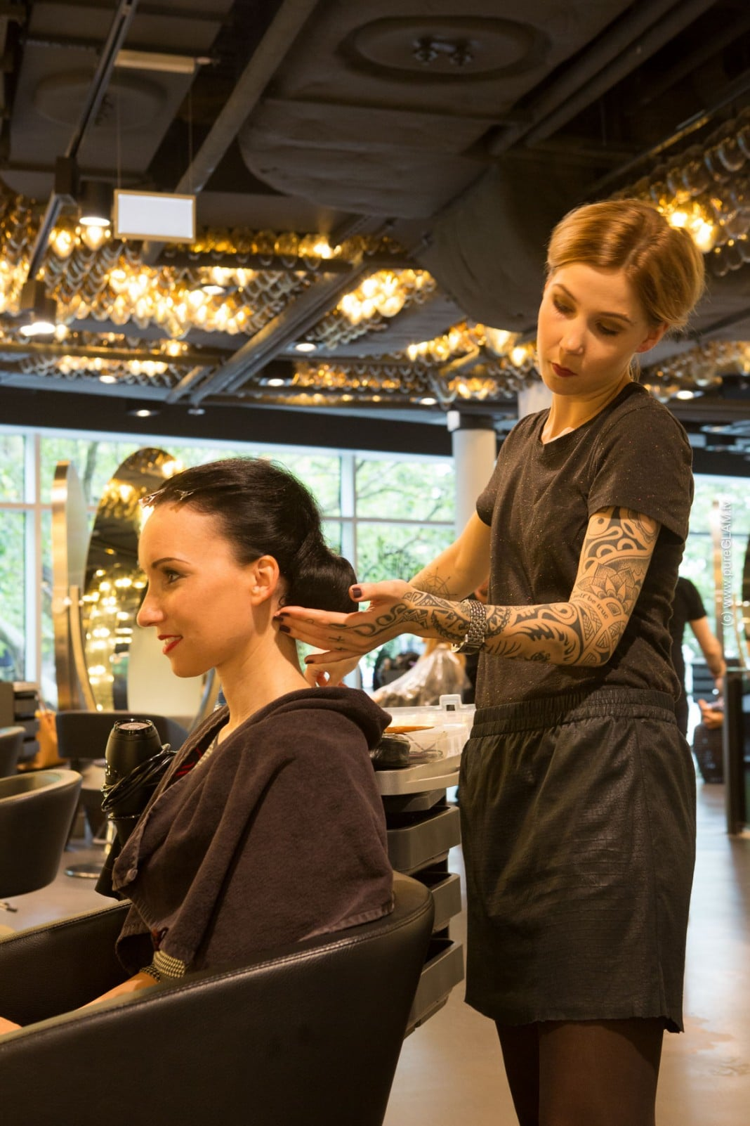 Fashionblog Update - Shan Rahimkhan - Hair Styling - Berlin - Frisuren und Makeup - Shan's Kitchen - Ob Kurfürstendamm oder Gendarmen Markt in Berlin - neu das