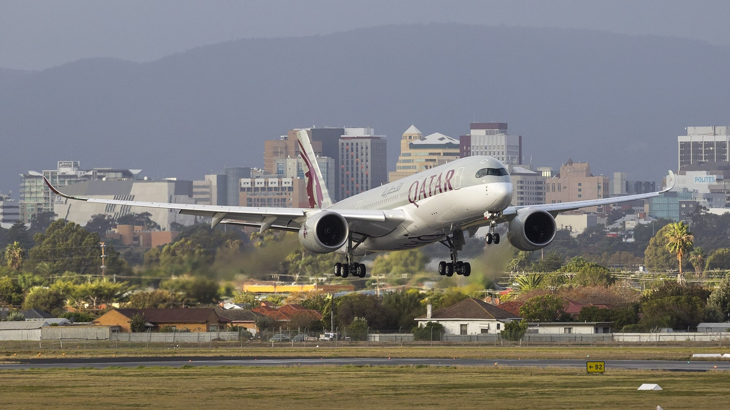 Qatar Airways Inaugural Flight QR914 - Doha Adelaide - Business Class Experience - (c) Qatar Airways