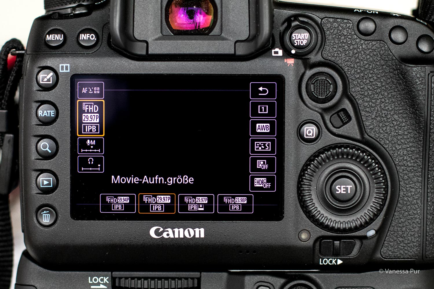 Canon 5D Mark IV Detailaufnahme HDR-Filme - Vloggen in HDR - High-Definition-Range bei YouTube-Videos - Erklärung und Tutorial