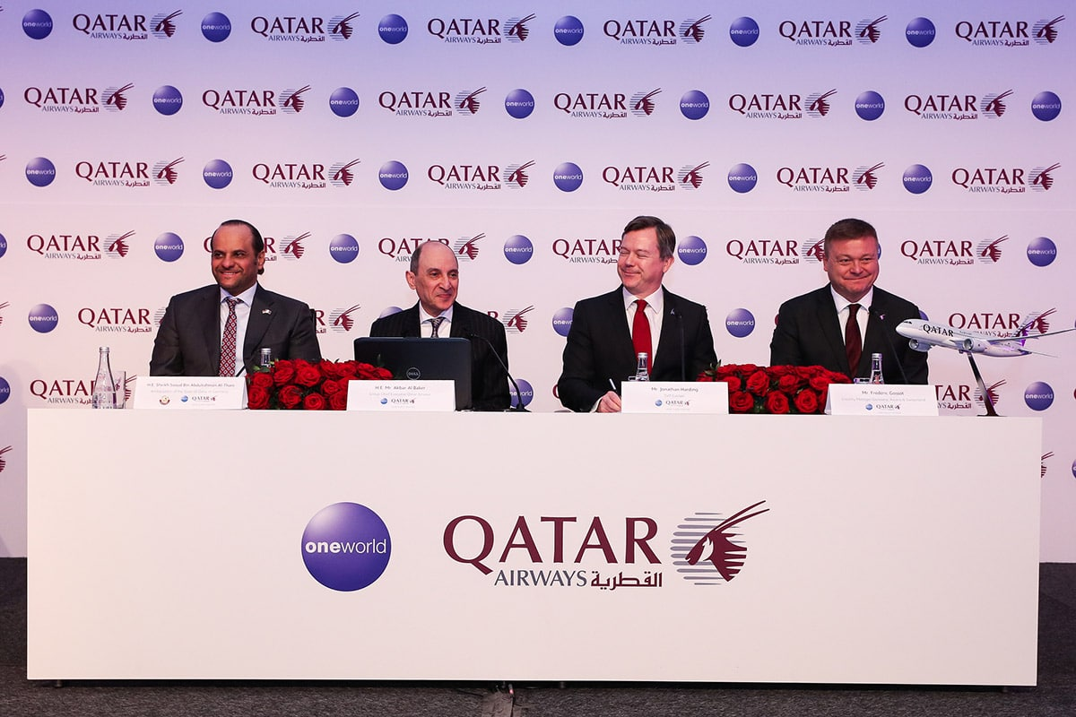 Qatar Airways - Pressekonferenz - ITB Berlin 2018