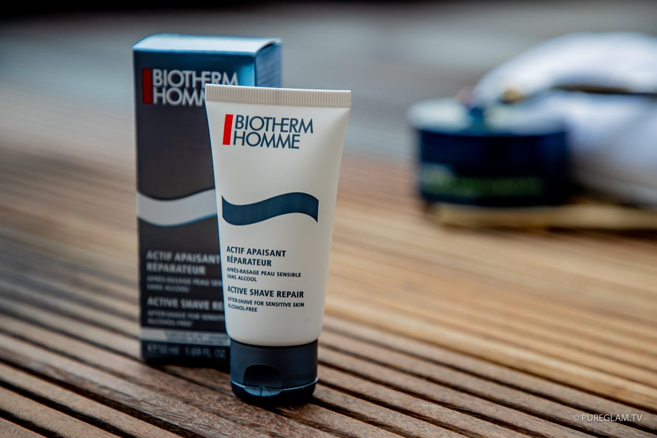 BIOTHERM HOMME - Active Shave Repair - After Shave Balsam - gegen Rasurbrand